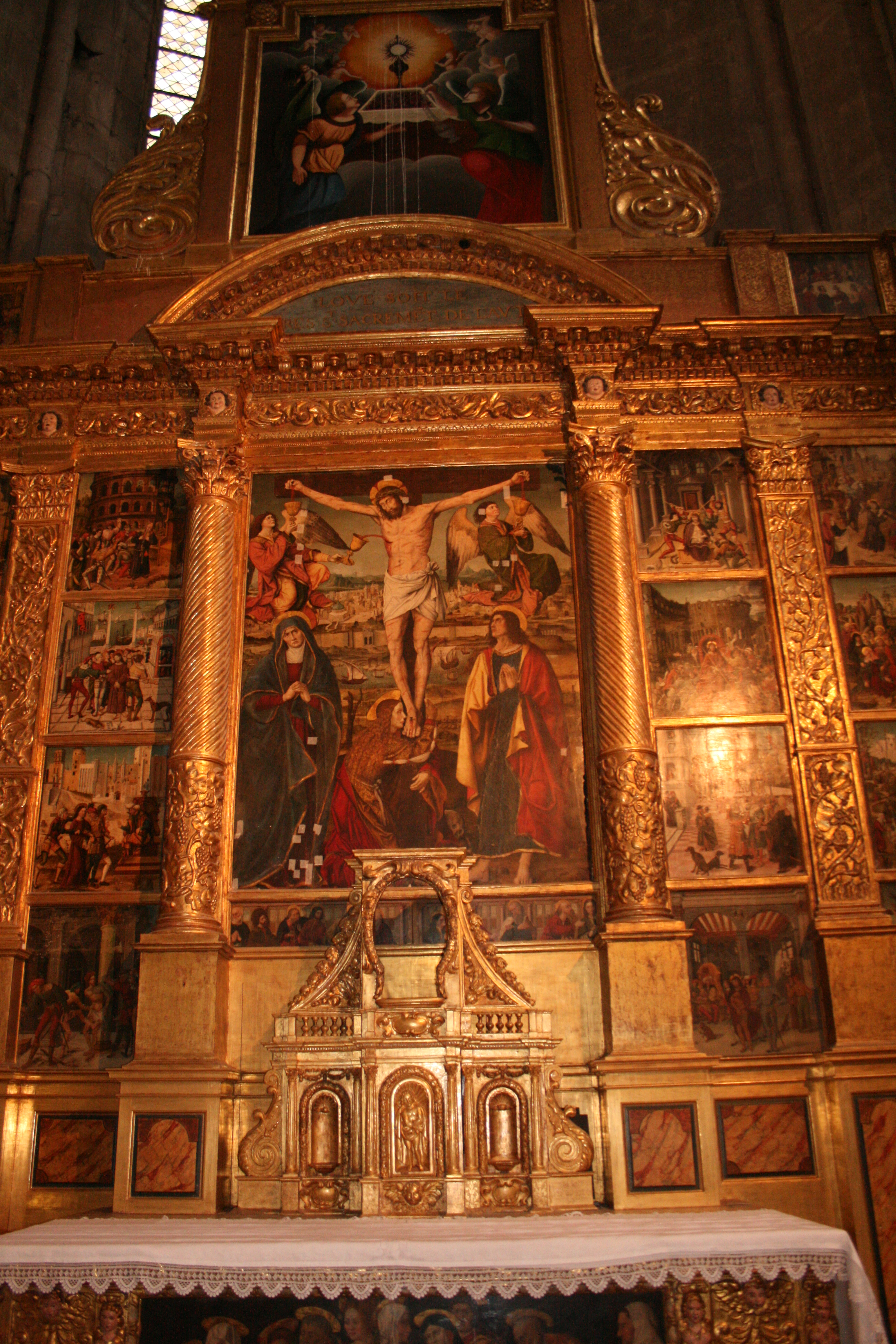 file basilique sainte marie madeleine de saint maximin la sainte baume int rieur jpg wikimedia. Black Bedroom Furniture Sets. Home Design Ideas