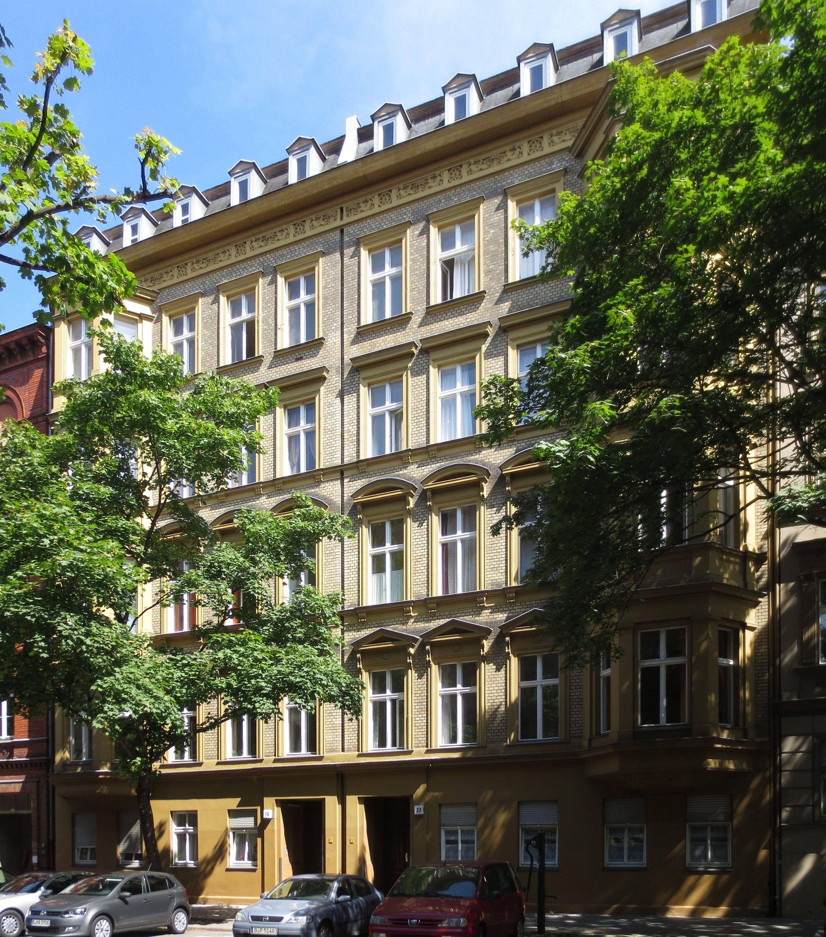 file berlin schoeneberg steinmetzstrasse 77 78 wikimedia commons. Black Bedroom Furniture Sets. Home Design Ideas
