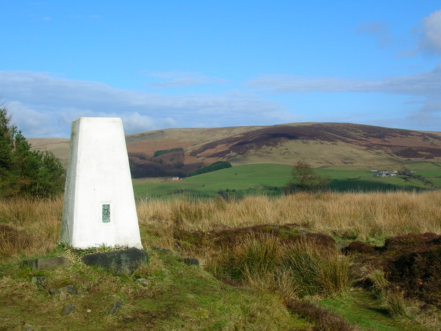 Black Hill Trig Point on a fine day - geograph.org.uk - 340626