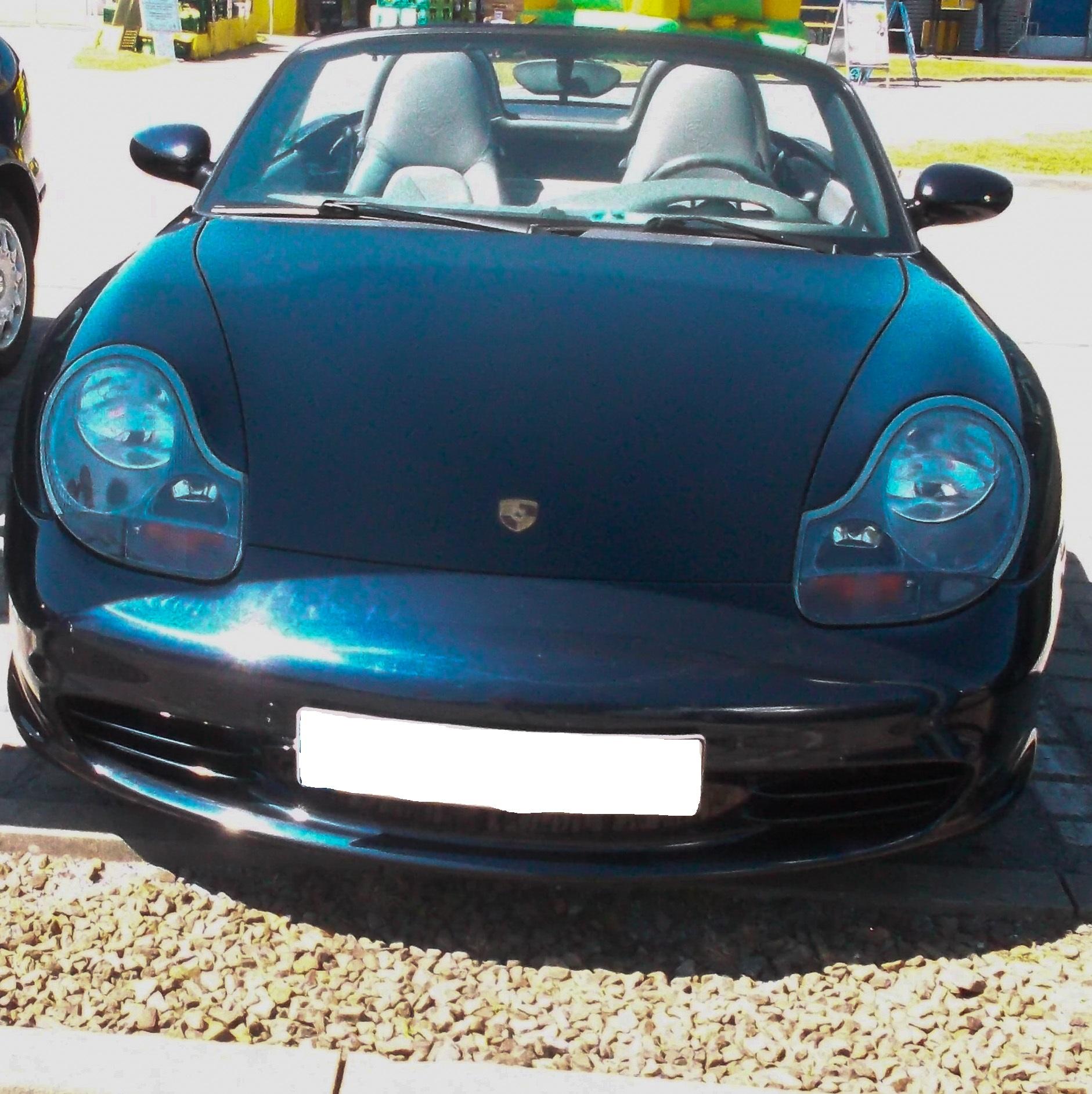 Porsche Boxster 986 Black: File:Black Porsche 986 Boxster Front (2).jpg