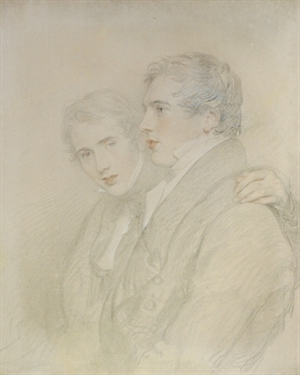 Portrait of Richard Rowland Bloxam and Andrew Bloxam by Sir Thomas Lawrence