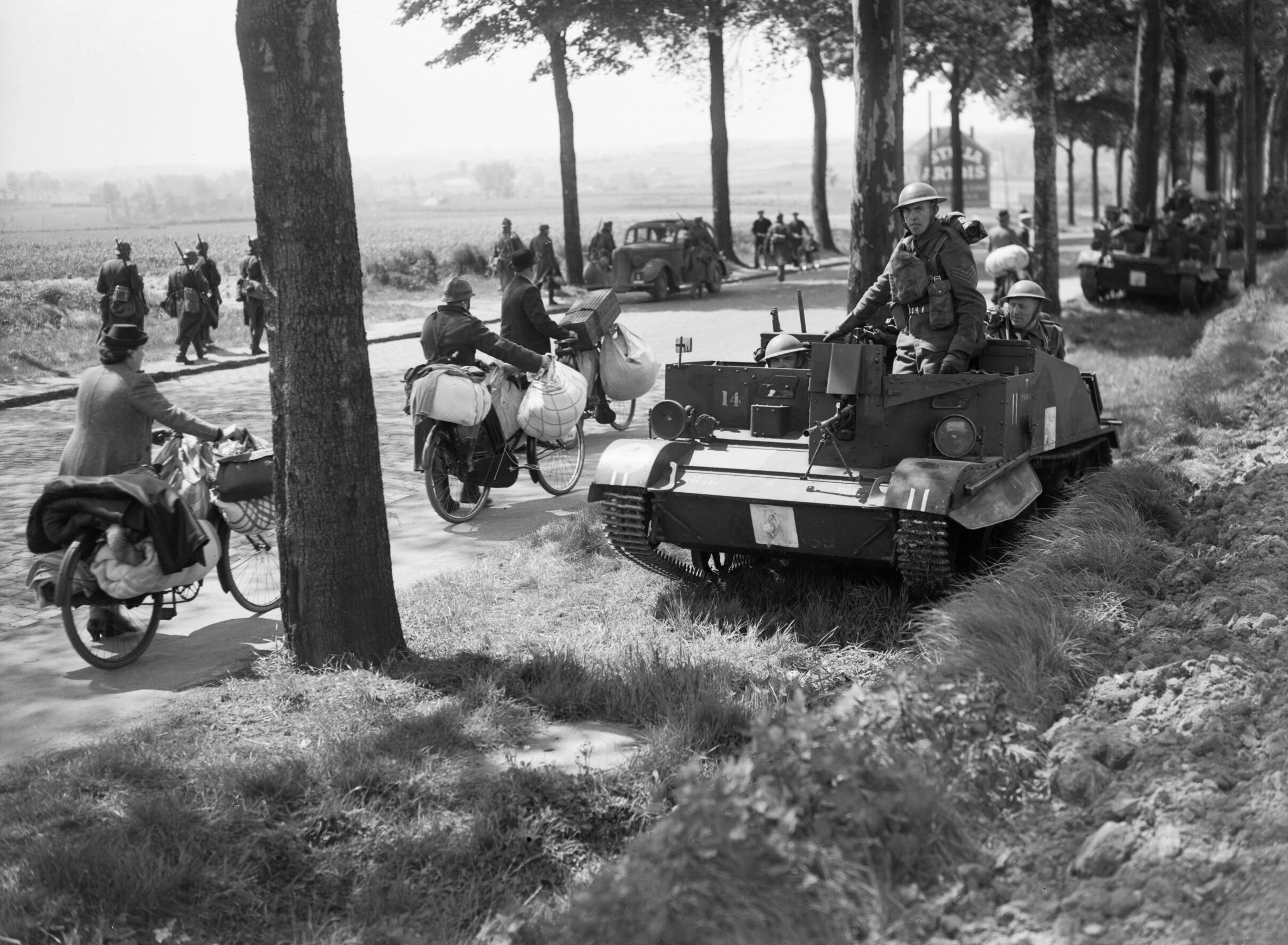 battle of france The battle of france began on 10 may 1940 the germans rendered the maginot line obsolete within a morning by merely skirting round the north of it, through the ardennes forest because of its rugged terrain, the french considered the forest impassable.