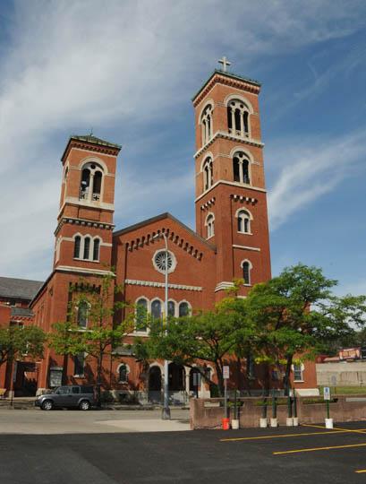 Brick Presbyterian Church Complex Rochester New York