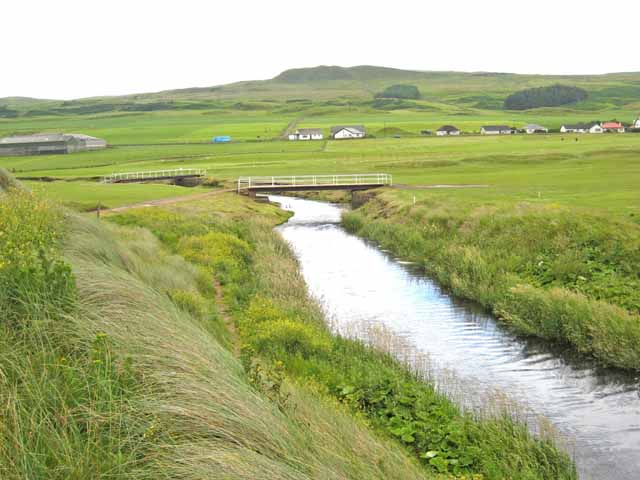 Bridges over the Machrihanish Water - geograph.org.uk - 484746