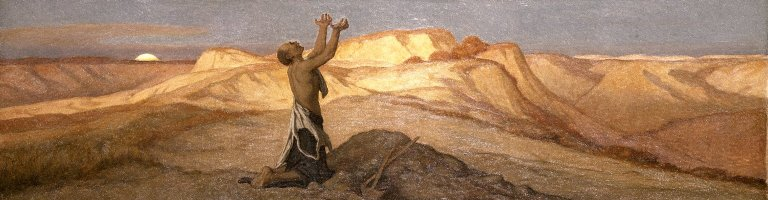 Brooklyn Museum - Prayer for Death in the Desert - Elihu Vedder - overall