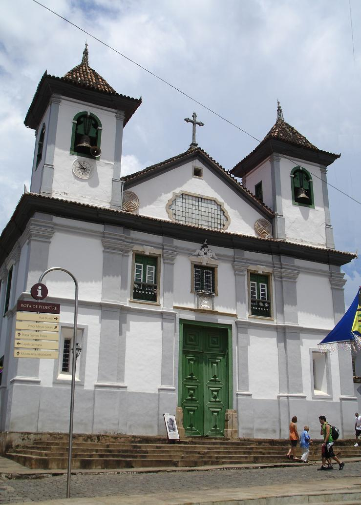 Categral Basílica Nossa Senhora da Assunção em Mariana - Foto retirada do Wikipédia (clique na foto para ir ao Wikipédia)