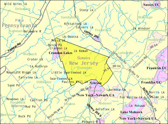 FileCensus Bureau Map Of Hampton Township New Jerseypng