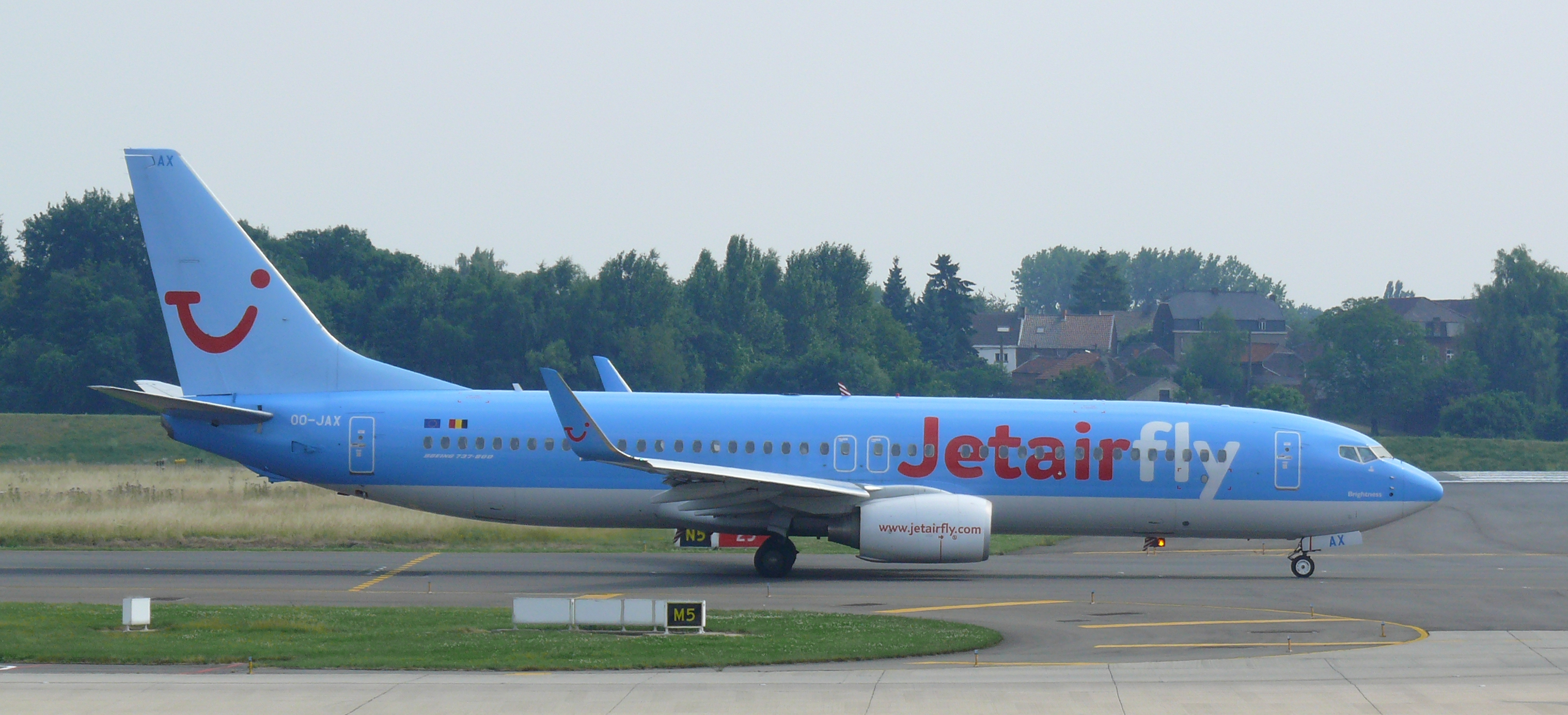 The airline Jet Air (Jet Air) .2