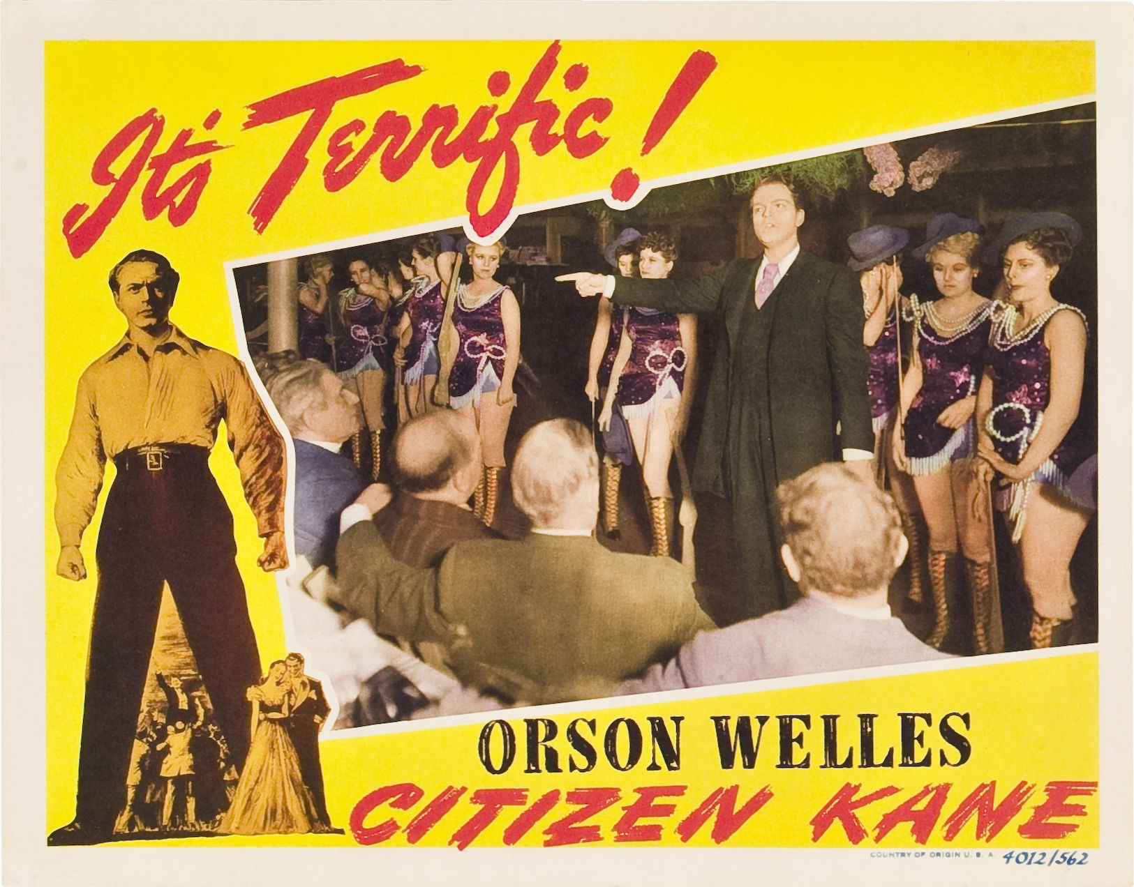 comparing the similarities and differences between the films citizen kane by orson welles and the sc