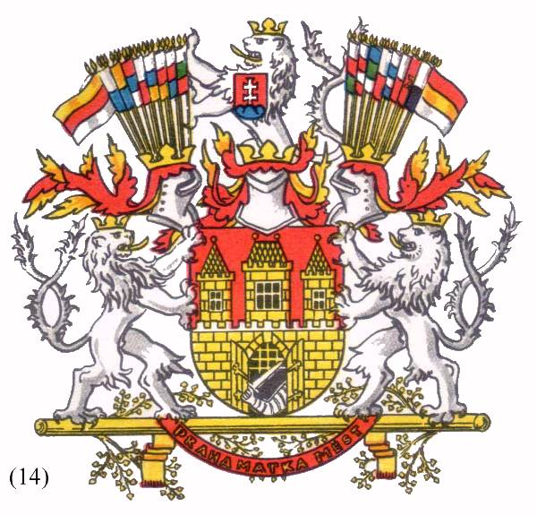 Filecoat Of Arms Of Prague Before 1960g Wikimedia Commons