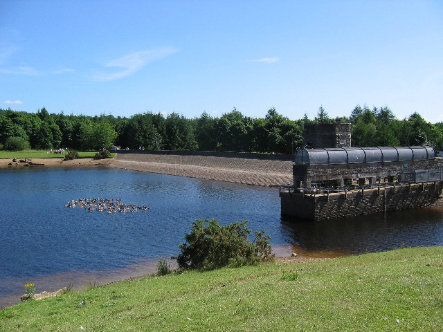 Cod beck Reservoir - geograph.org.uk - 29211