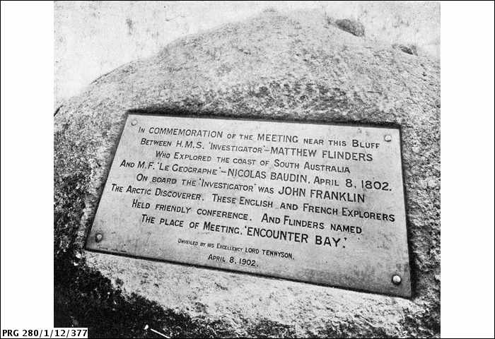 File:Commemoration plaque at Rosetta Head, South Australia (State Library of South Australia PRG280 1 12 377).jpg