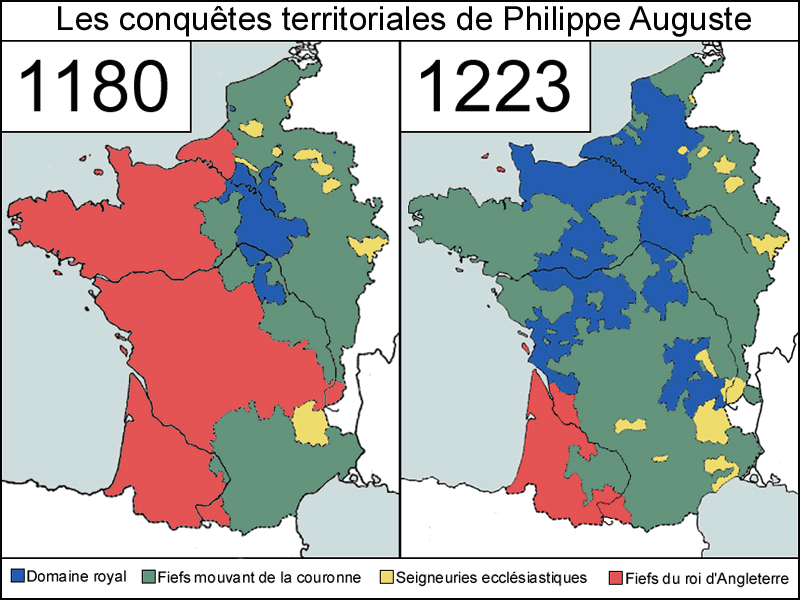 Conquetes Philippe Auguste