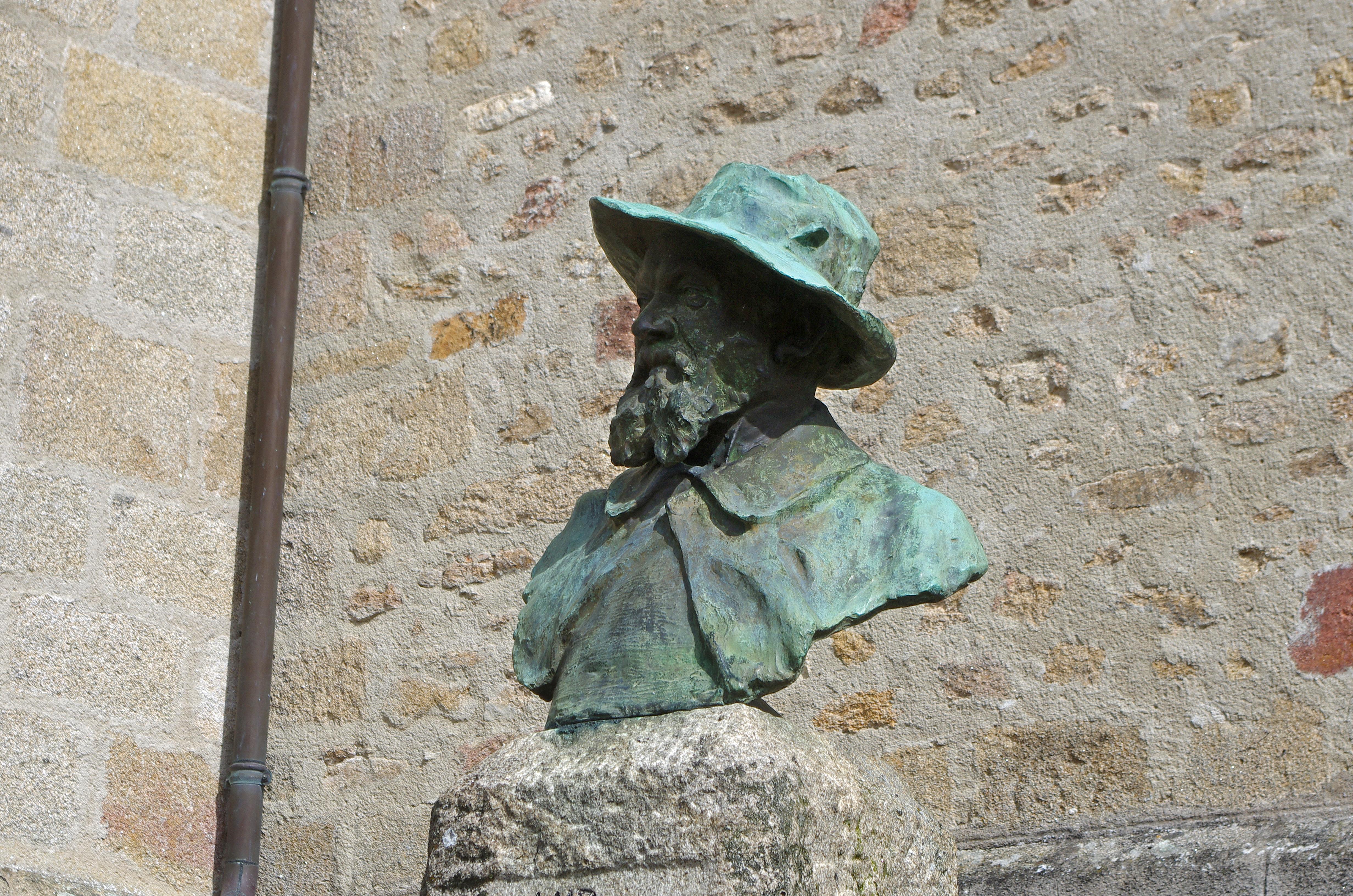 pour s'inscrire aux cours du soir de l'Académie Suisse* de Paris. Il y rencontre Pissarro et Cézanne avec qui il se lie d'amitié. Ses nouveaux amis lui