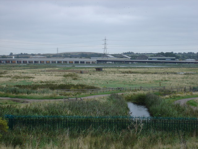 Drainage Channel on Rainham Marshes - geograph.org.uk - 935999