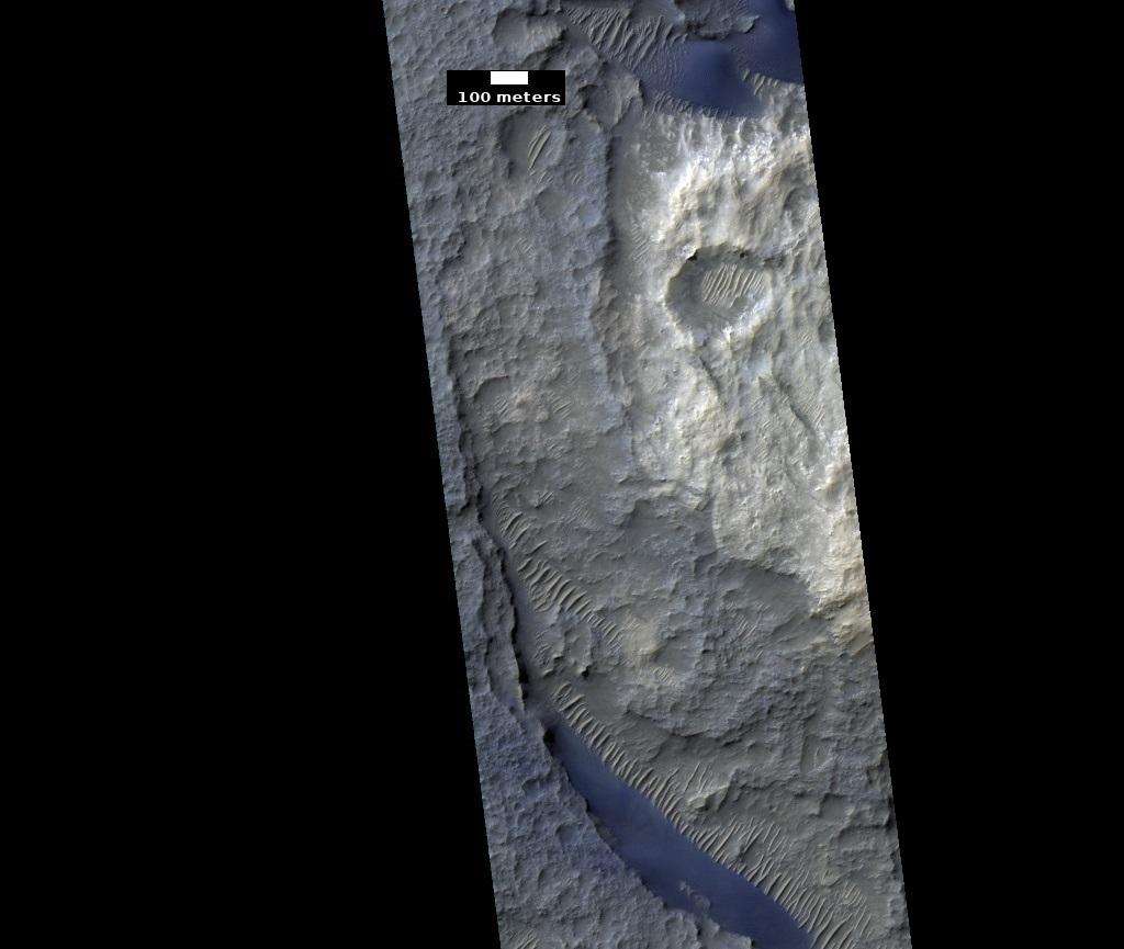 Dunes in Schaeberle Crater