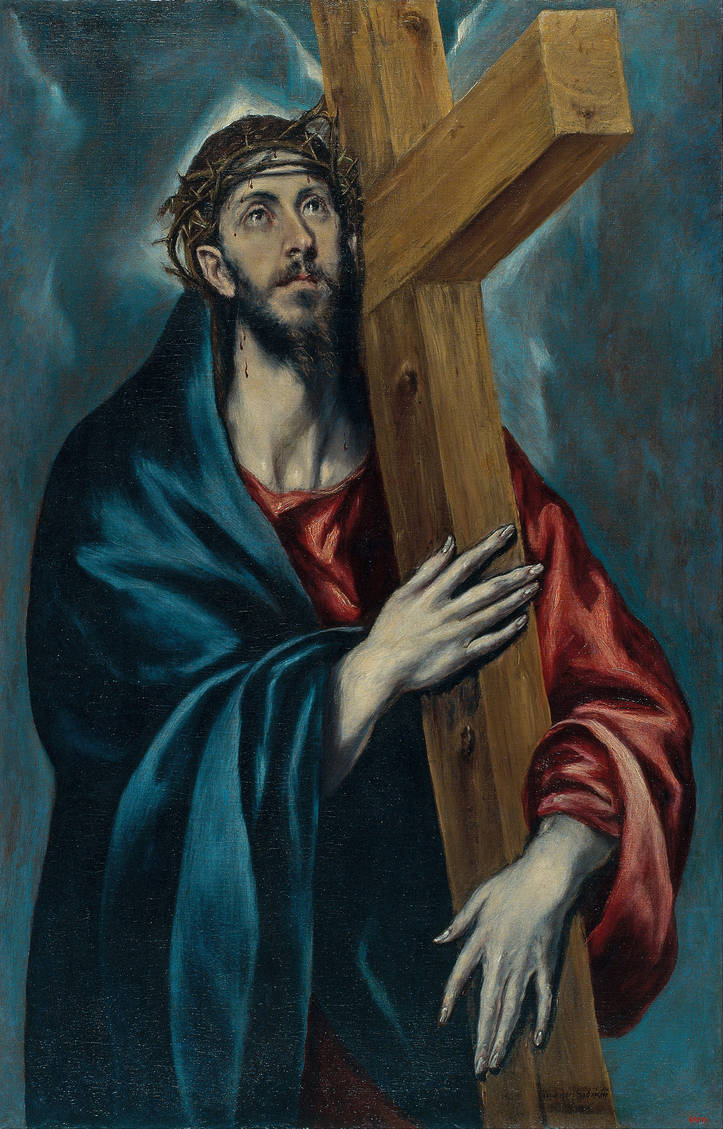 File el greco christ carrying the cross google art project