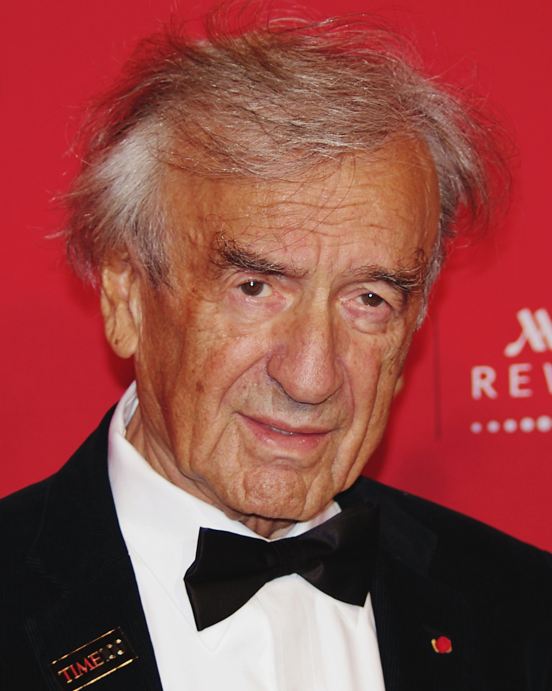 Portrait of Elie Wiesel