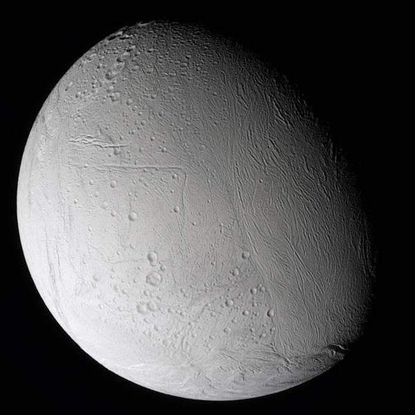 Enceladus north