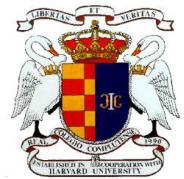 Escudo del Real Colegio Complutense en Harvard