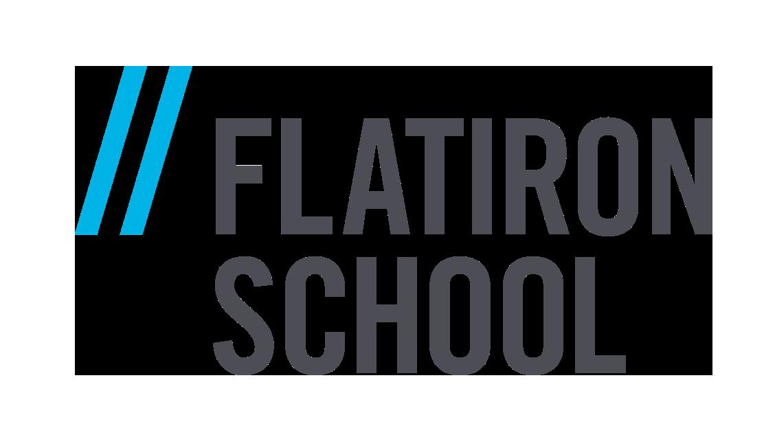 Flatiron School branded logo