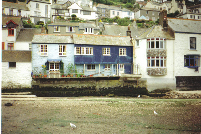 Fishermens cottages, Polperro - geograph.org.uk - 293100
