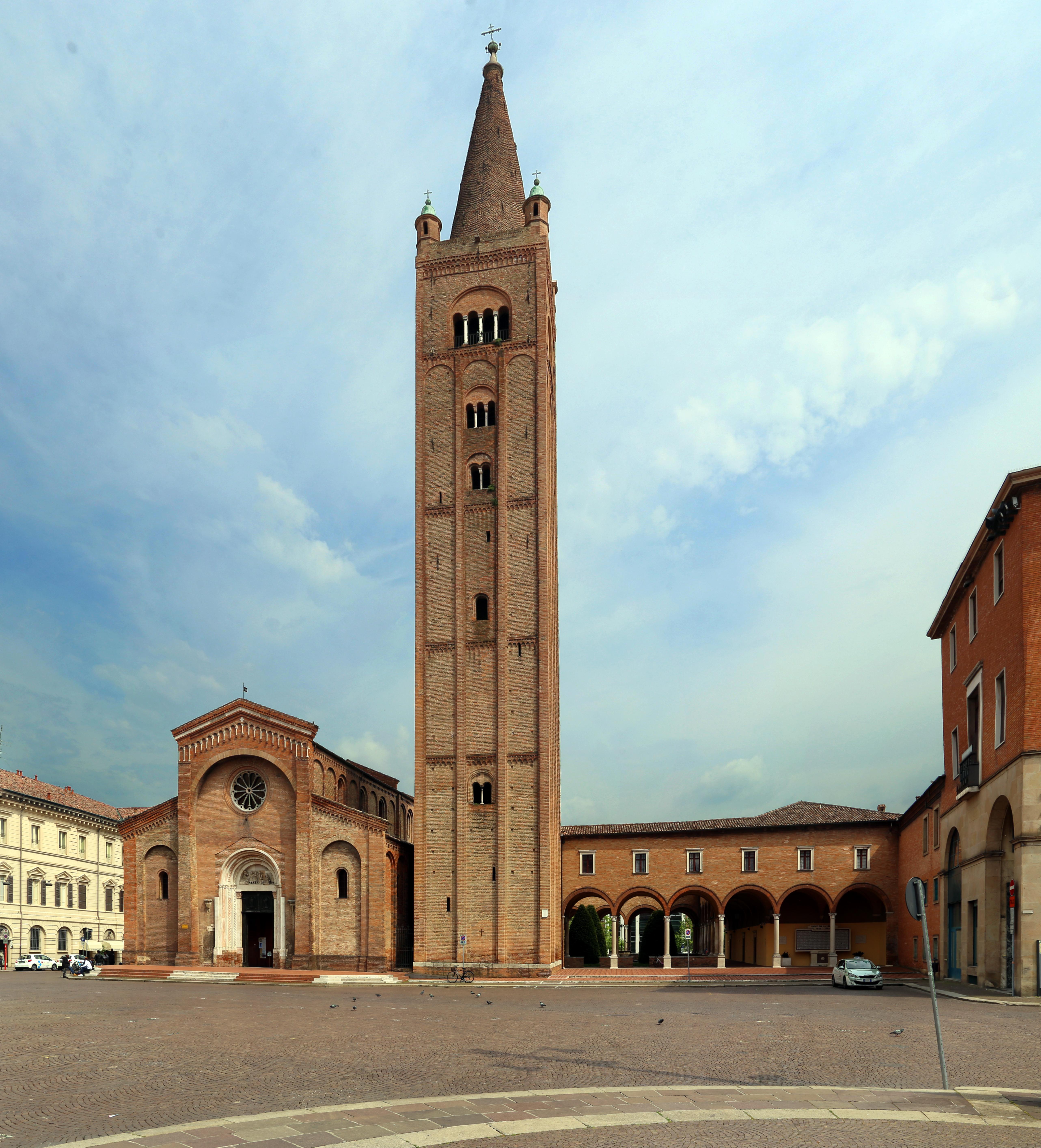 Piazza Della Misura Forli.Abbazia Di San Mercuriale Wikipedia