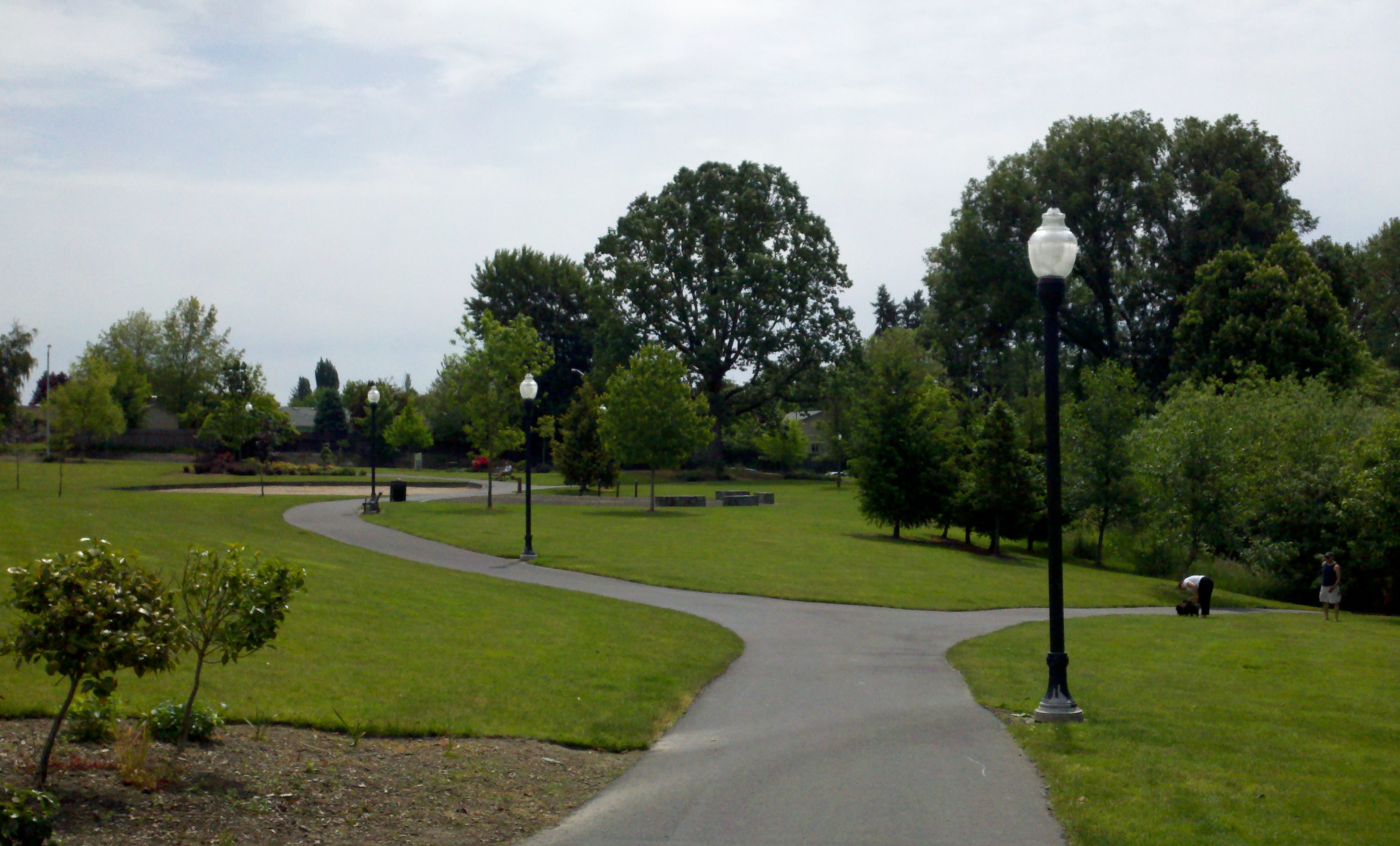 Francis Street To Dog Park Where Community Ggsrden Is