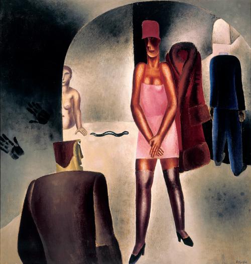 * une toile sur la toile * - Page 16 Fritz_van_den_Berghe_Corridors_1927