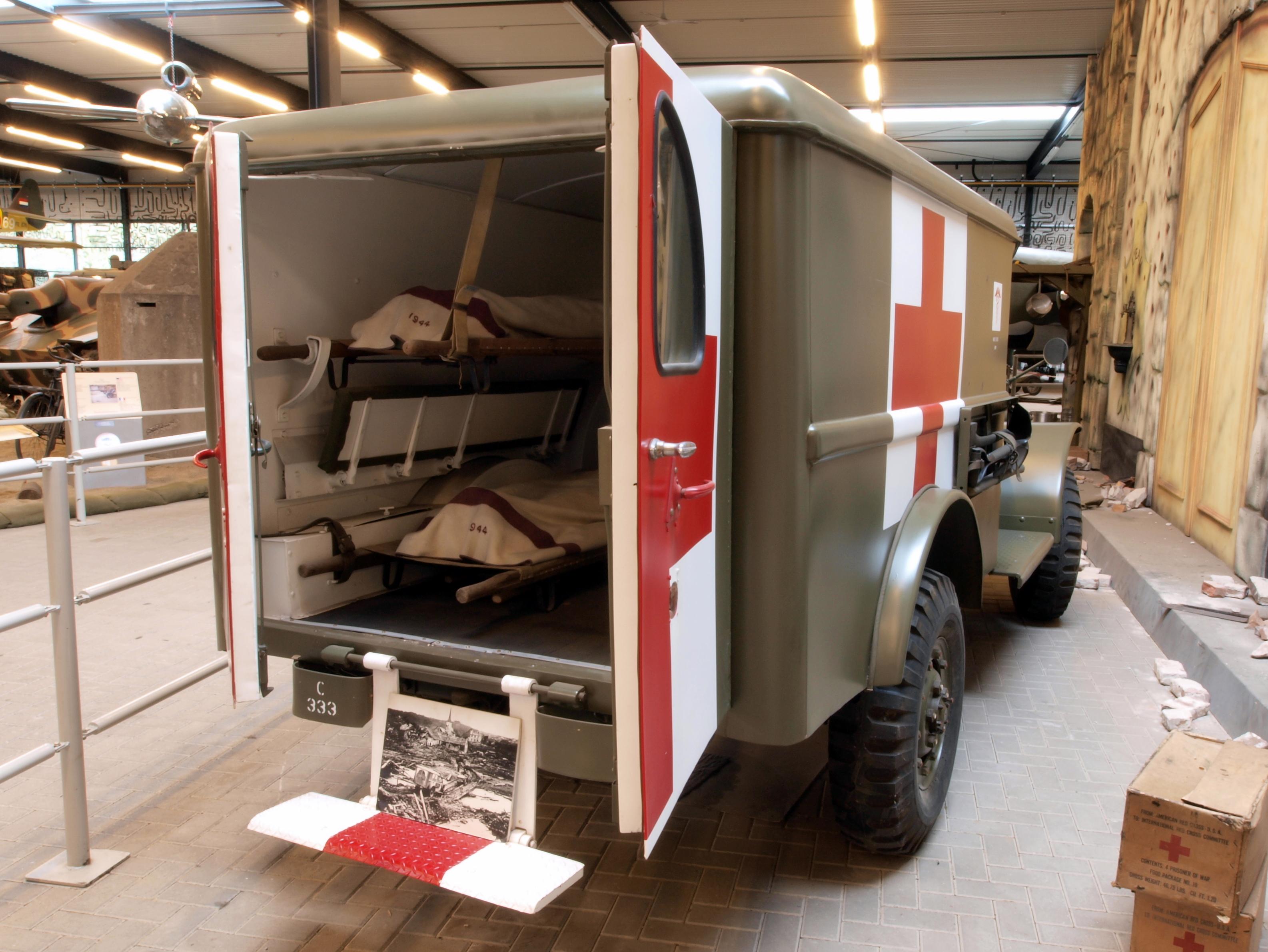 File G 502 4x4 Dodge Wc 54 T214 Ambulance Pic2 Jpg