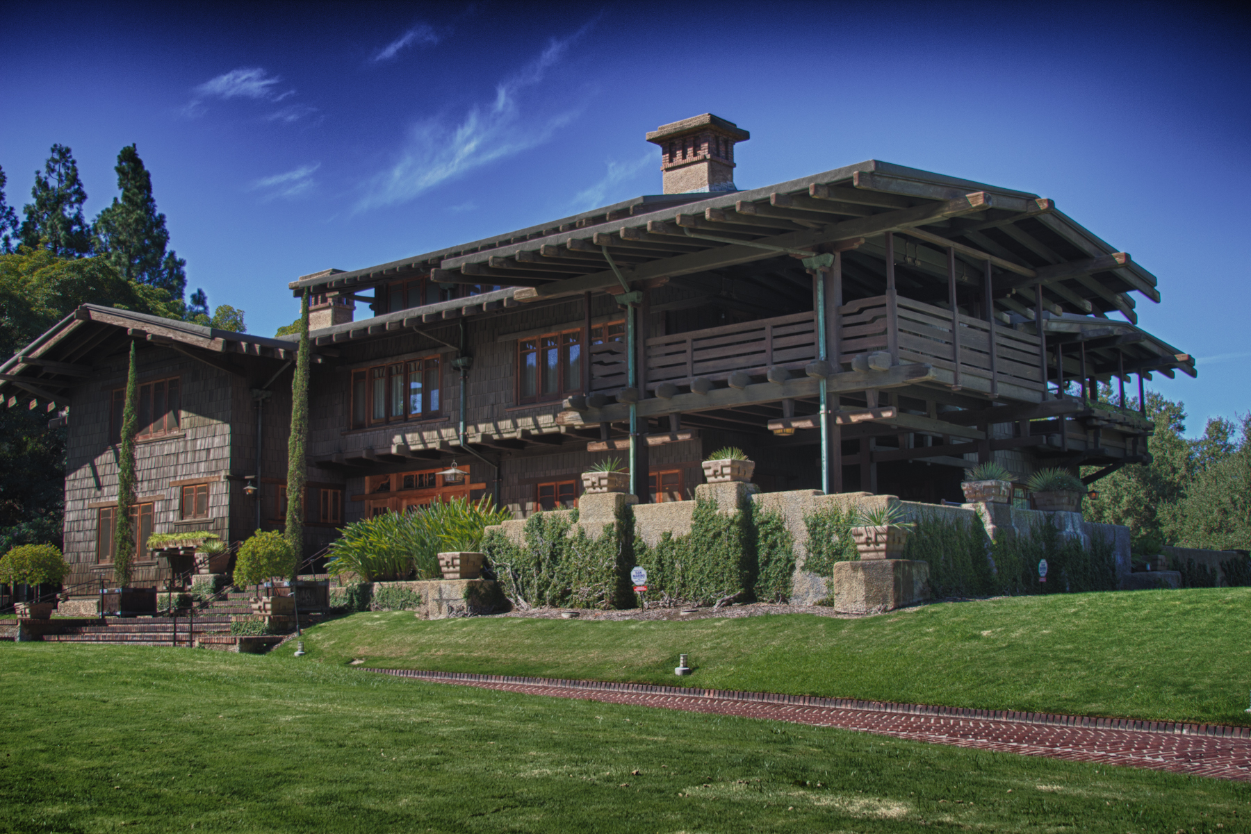 craftsman style home gamble house
