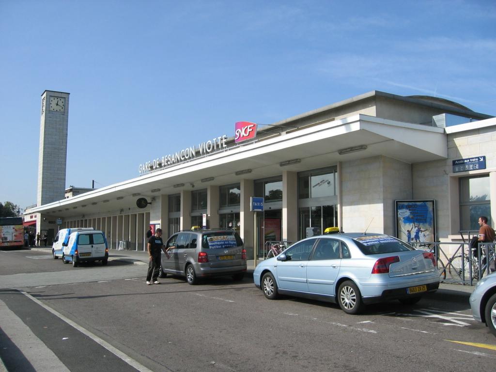 Gare de besan on viotte wikipedia for Montbeliard besancon