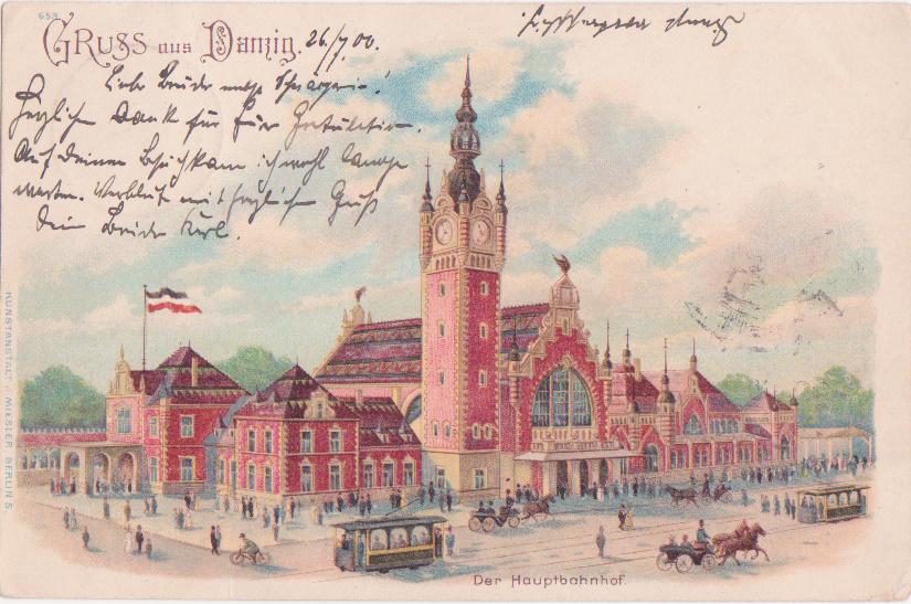 Zwei Angebote zur Sanierung des Danziger Hauptbahnhofs