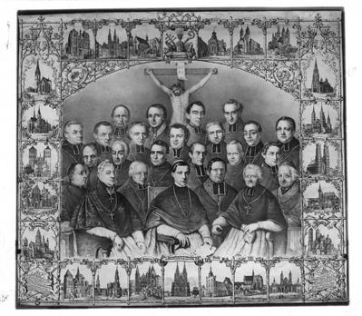 Datei:Gedenkbild Erste Deutsche Bischofskonferenz Wuerzburg 1848.jpg