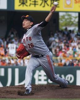 Giants utsumi 26 - 【内海 哲也】身長 186 cm 体重 93 kg 読売ジャイアンツに所属するプロ野球選手(投手)