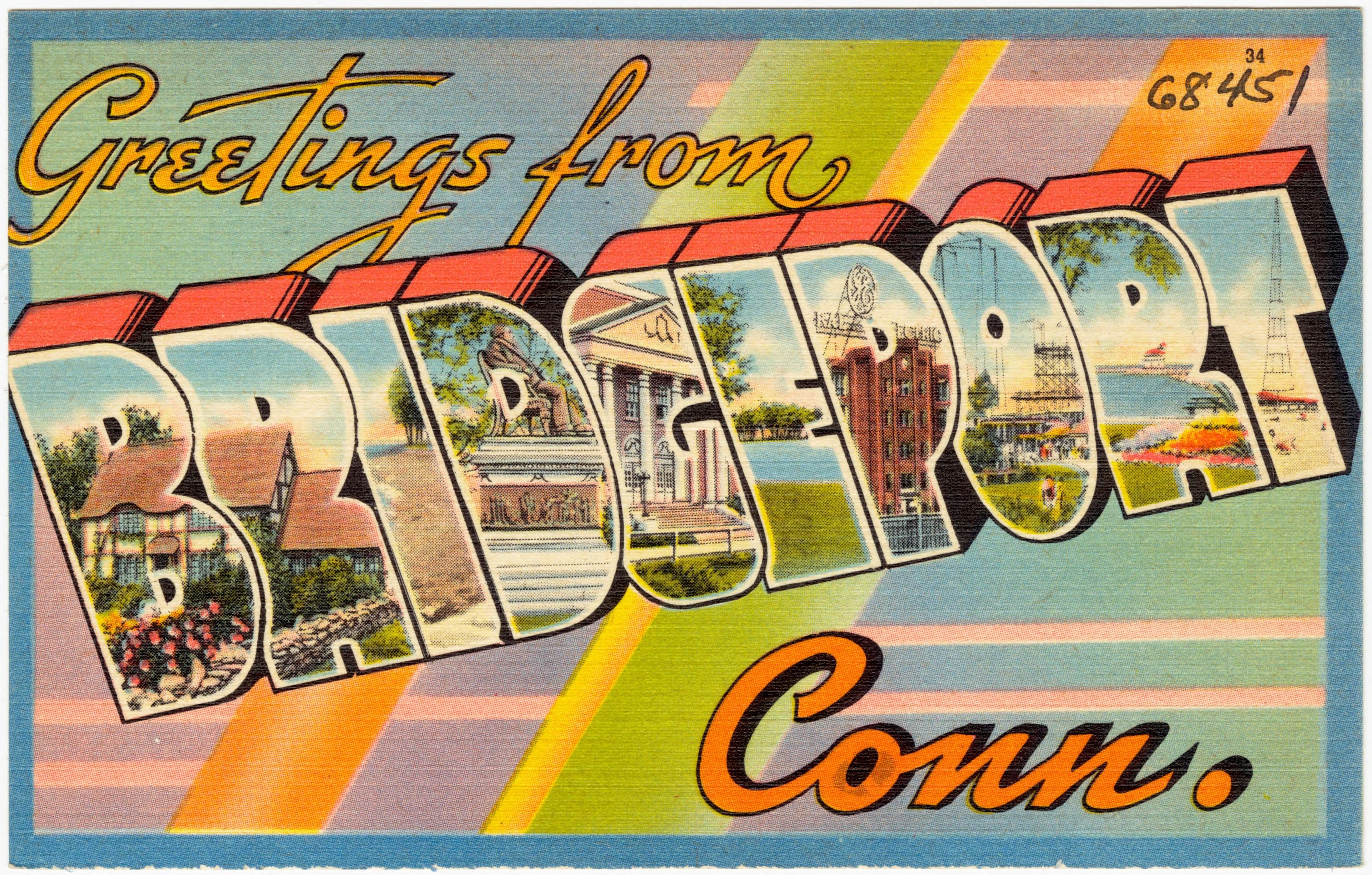 Filegreetings From Bridgeport Conn 68451g Wikimedia Commons