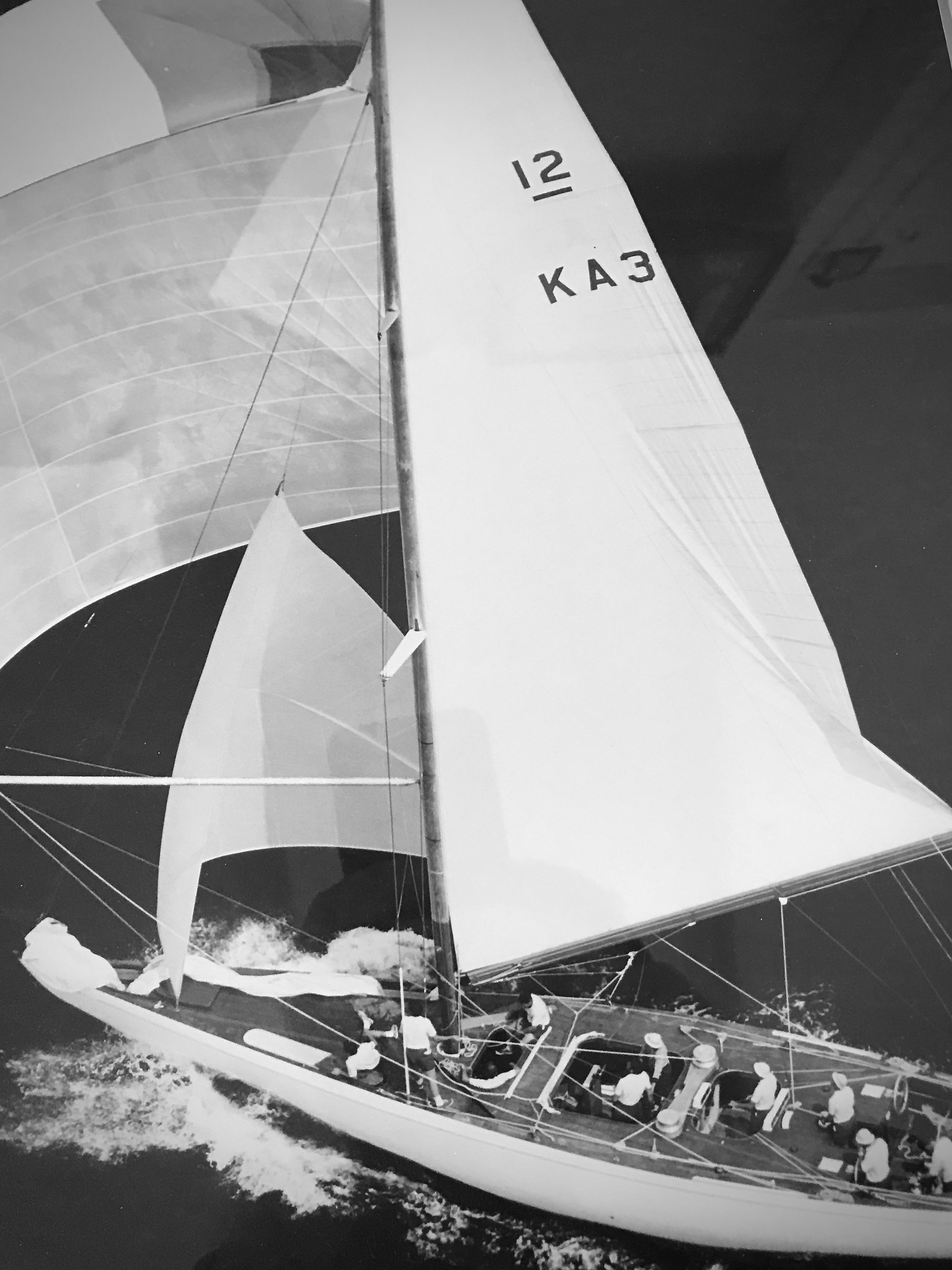"Courageous Sailboat Model 32/"""