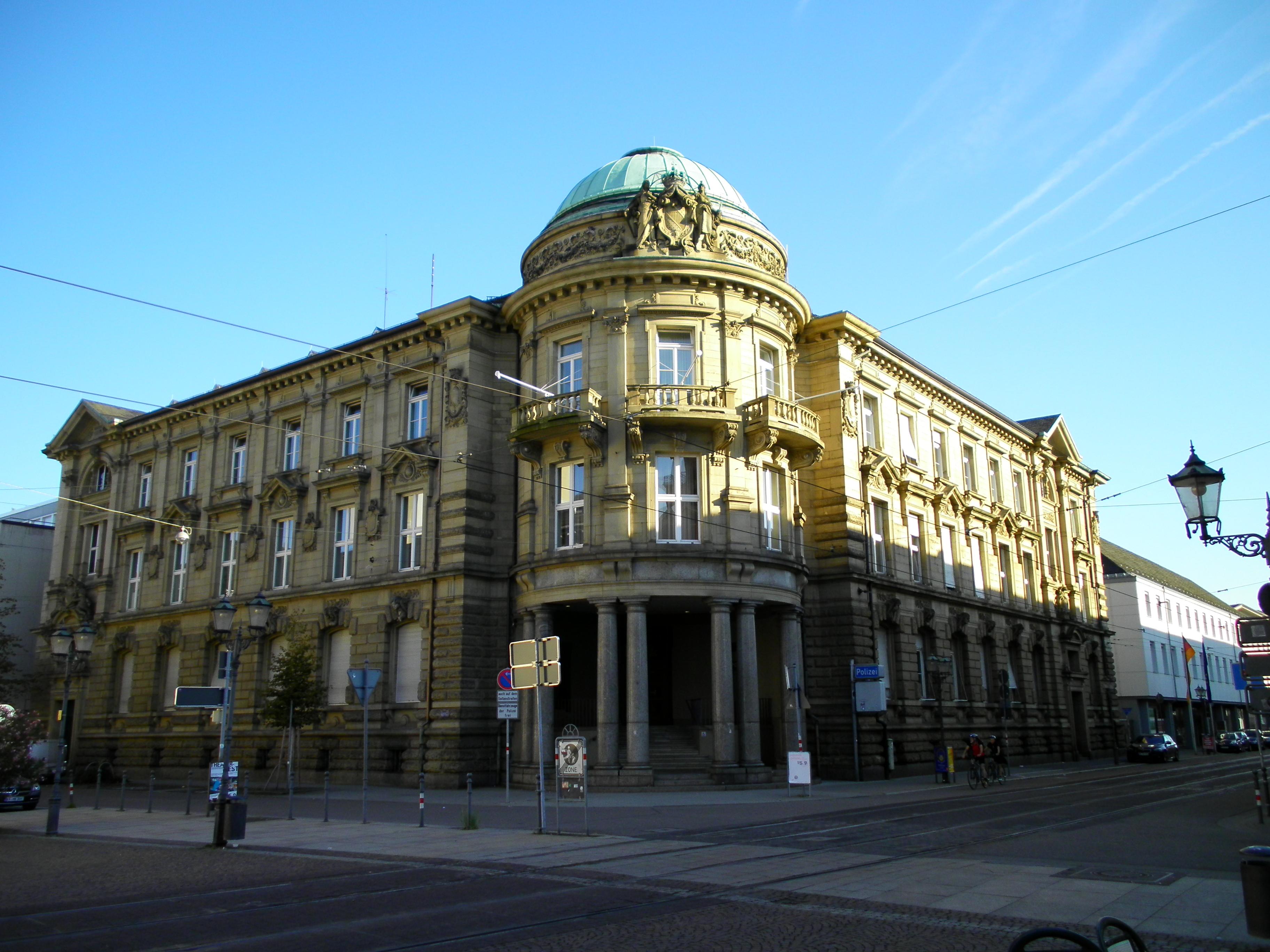 Polizeirevier Karlsruhe-Marktplatz Karlsruhe