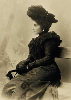 Елена Ивановна Рерих. 1900. Санкт-Петербург