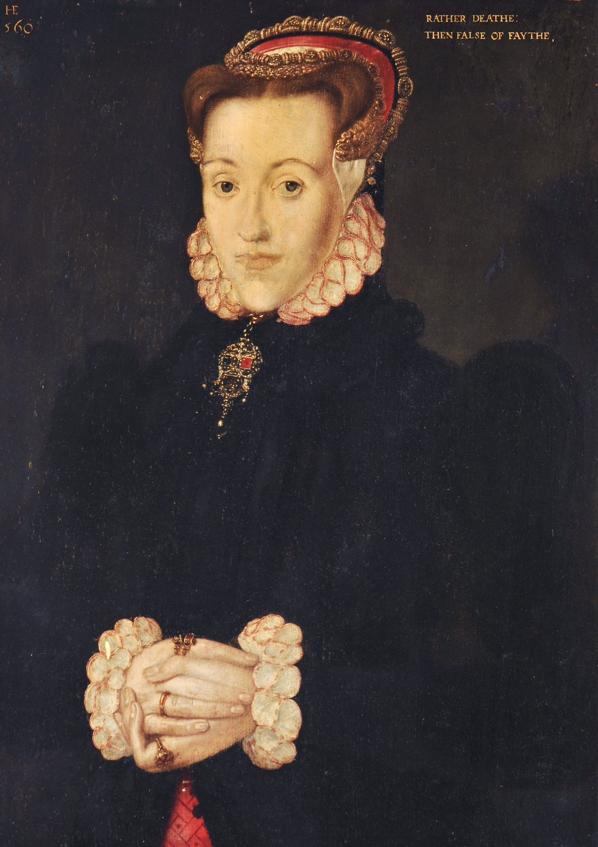 Hans Eworth Portrait of a Lady call Anne Ayscough