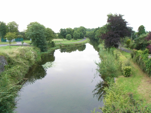 Harbour on the Royal Canal at Ballina, Co. Westmeath - geograph.org.uk - 1406179