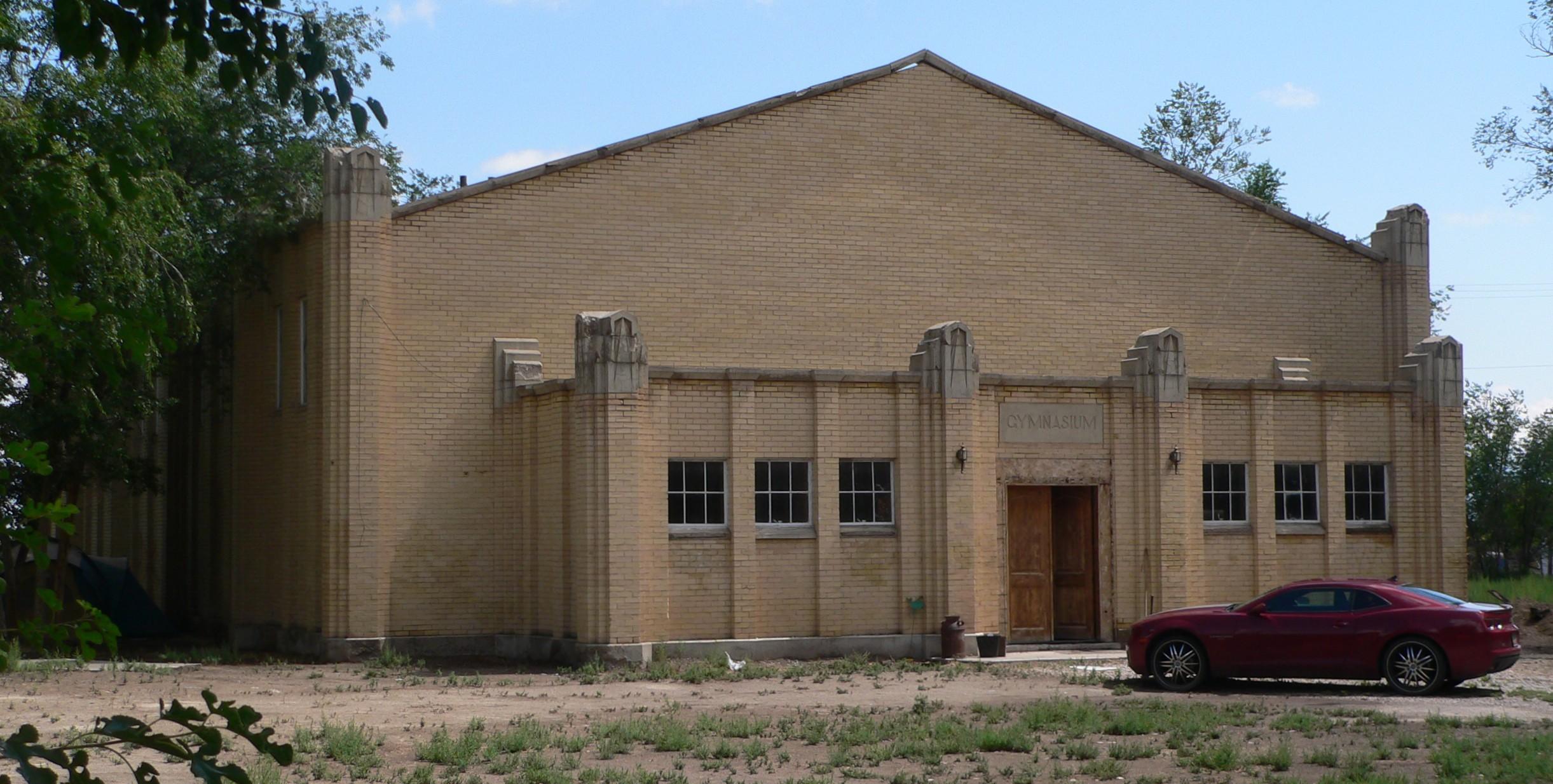 File:Hinckley, Utah HS gym from NW 2.JPG - Wikimedia Commons
