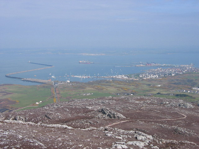 Holyhead Harbour, Holy Island - geograph.org.uk - 17303
