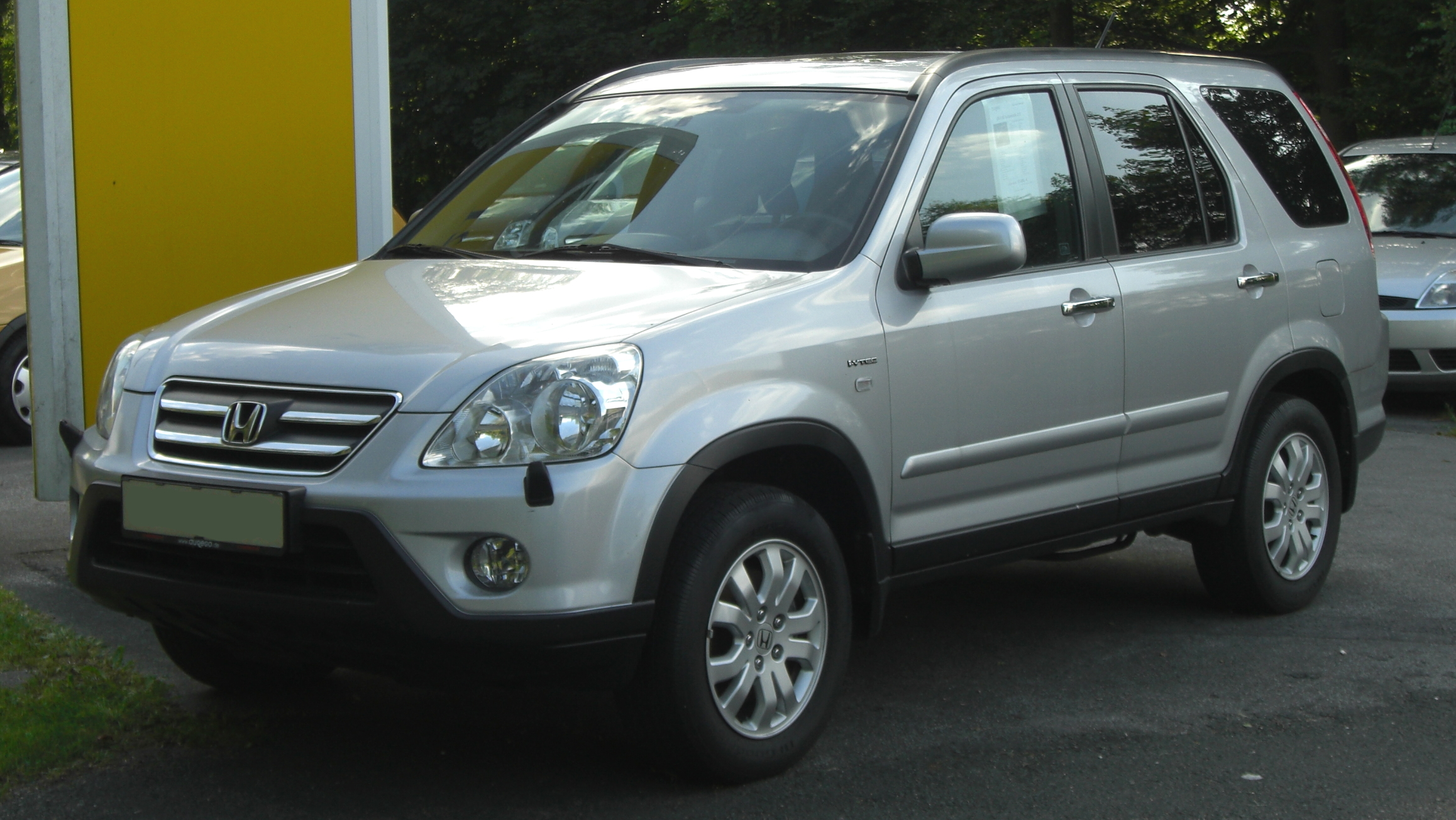 file honda cr v 2 0 i vtec facelift front jpg wikimedia commons