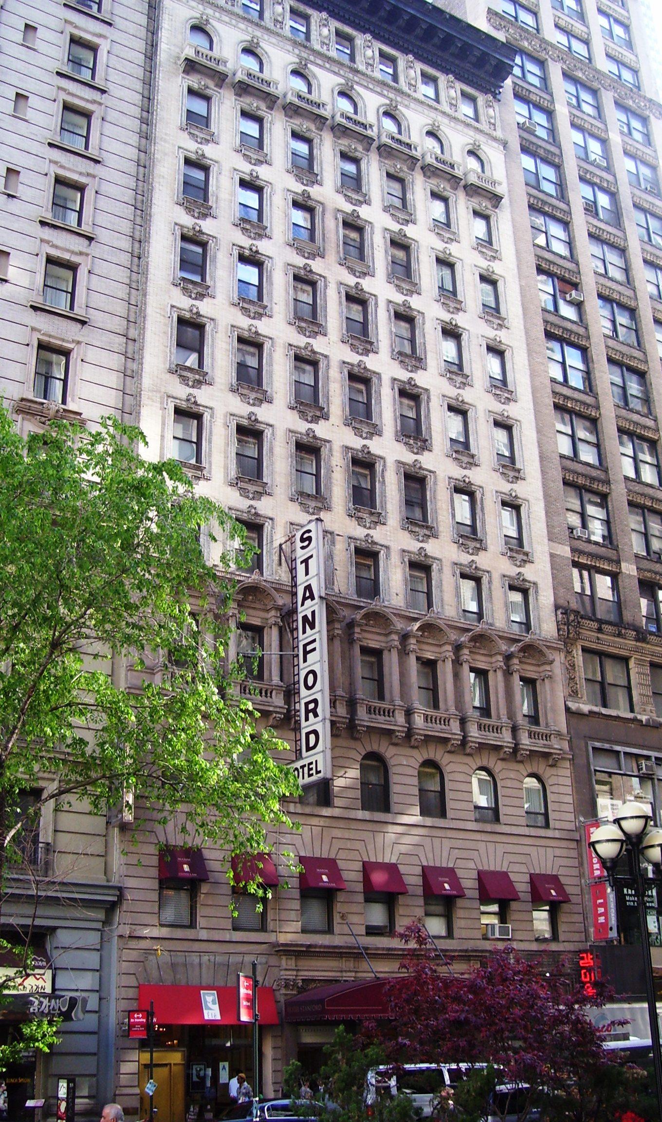 Hotel Stanford New York  West Nd Street