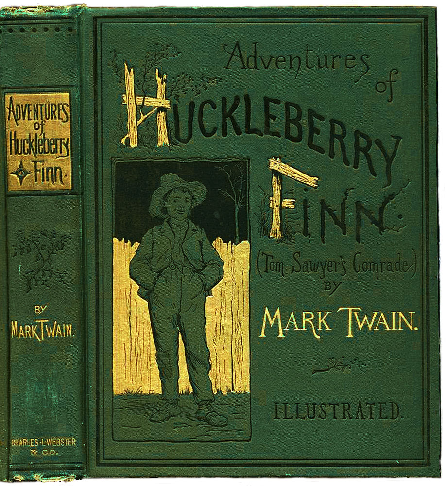 Archivo:Huckleberry Finn book.JPG