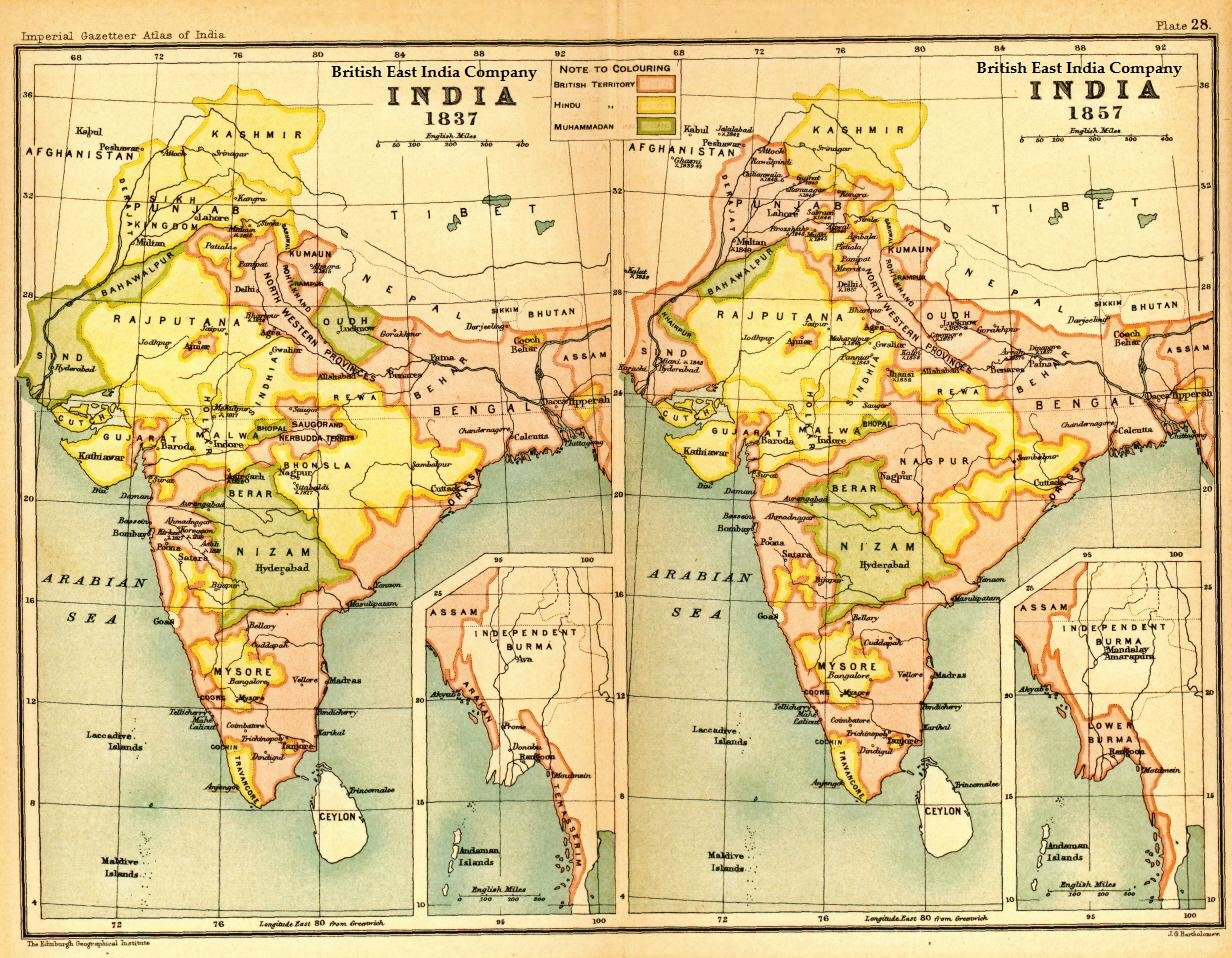 influence of british culture over the indian subcontinent The indian subcontinent is a vast area the size of europe the indian subcontinent: land and culture but evolved gradually over about 1,000 years.