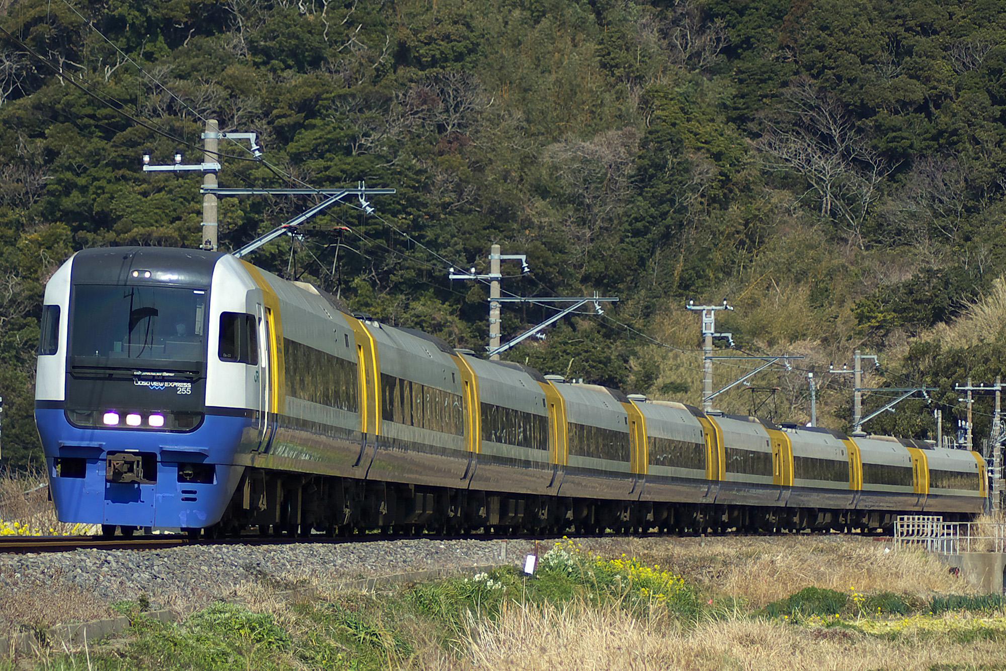 File:JR East 255 Limited Express Sazanami.jpg