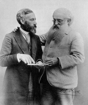 Уильям Джадж и Генри Олкотт