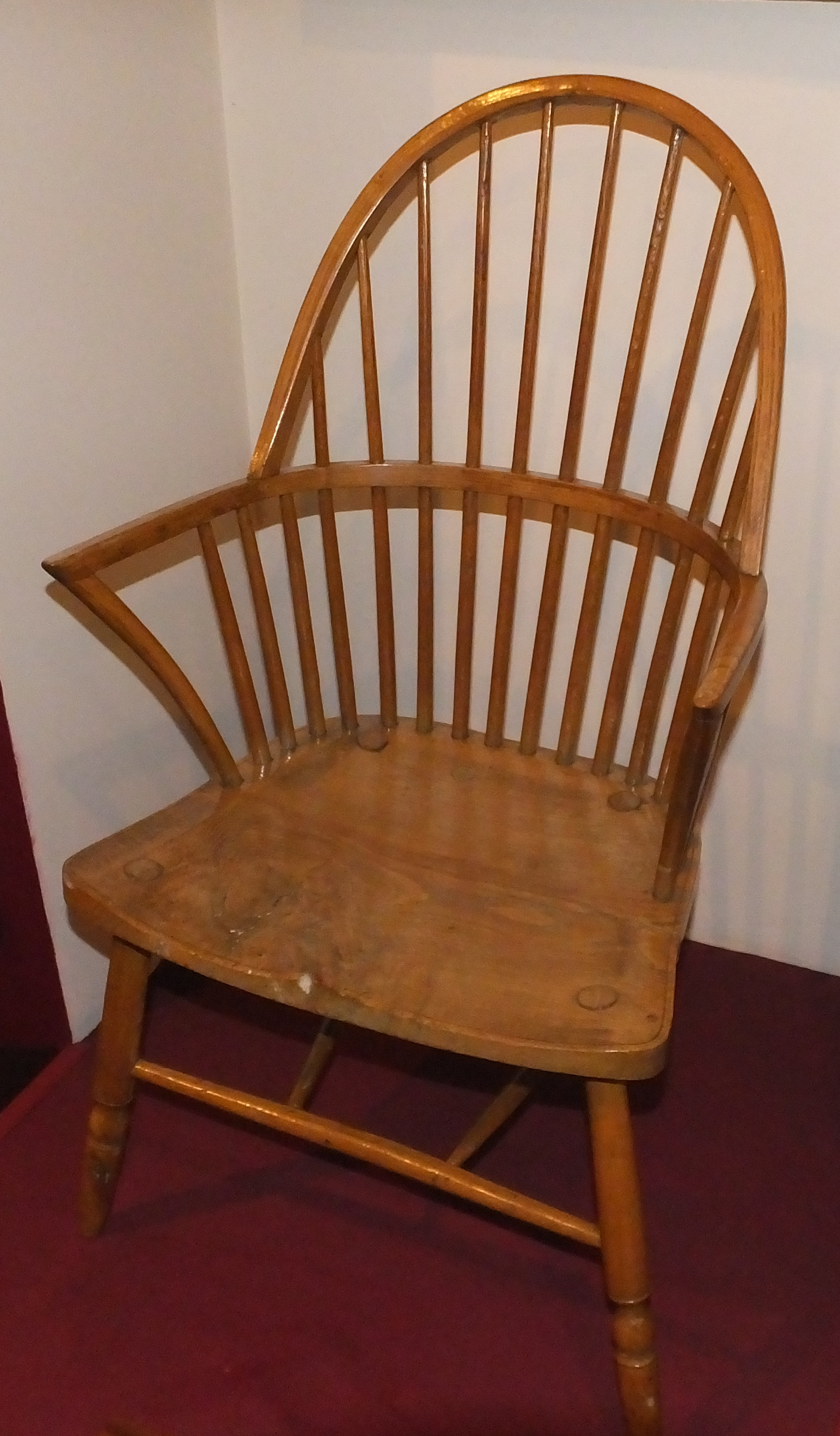 File Judges Lodgings 2014 GLAM Gillows Windsor chair 1890 Ash